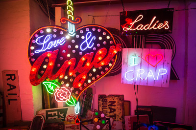 God's-Own-Junk-Yard, neon, signage, signs, london, love